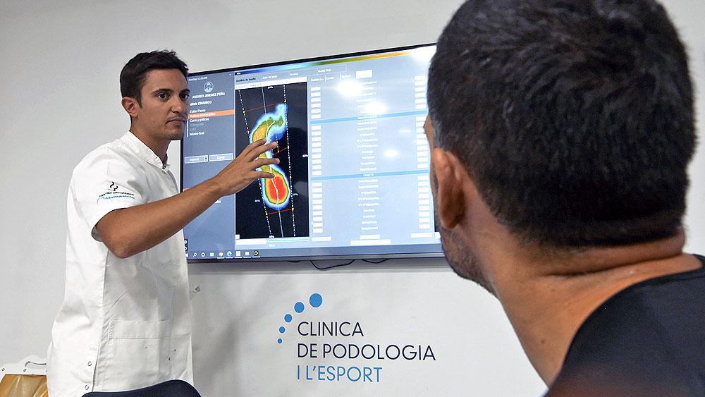 Resultados Estudio Biomecánicos 3D | Clínica Podologia i l'Esport