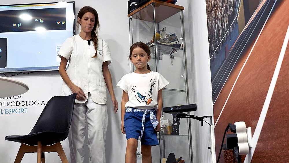 Estudio de la Pisada Niños en Barcelona | Clínica Podologia i l'Esport